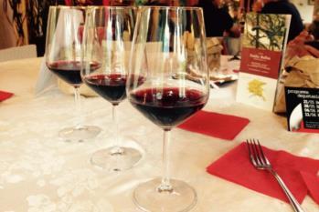 selezione di vini hotel gardel