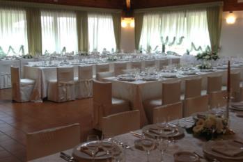 tavola ferro di cavallo pranzo di nozze hotel gardel