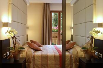 particolare camera superior hotel gardel