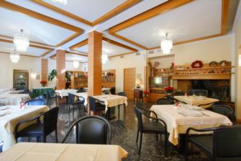 saletta caminetto hotel gardel